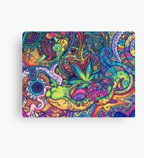 Hippie Wallpaper Gif #Psychedelicgif, #psychedelic, #psychedelia, #lsd, weed, dreams, lsdgif, weedgif,  psycodelia Canvas Print