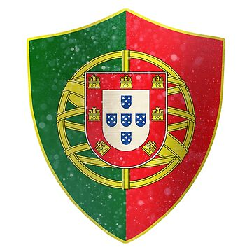 Portugal Flag Shield by ockshirts