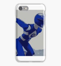 Mighty Morphin Blue Ranger iPhone Case/Skin