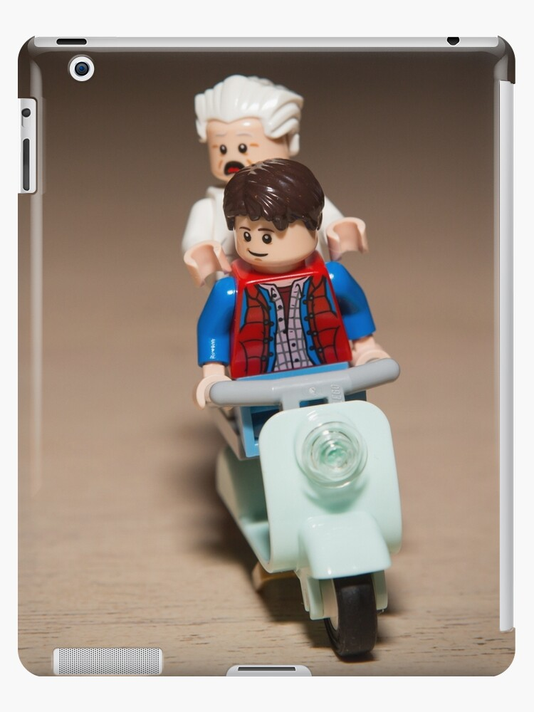 Marty and Doc Brown ride a Scooter by garykaz
