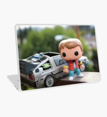 Marty Mcfly Delorean Laptop Skin