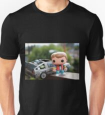 Marty Mcfly Delorean Unisex T-Shirt