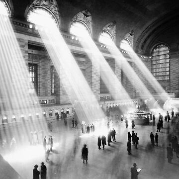 Sunbeams In Grand Central by historicalstuff