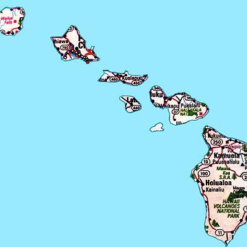 Mapa de ruta de Hawai de Havocgirl