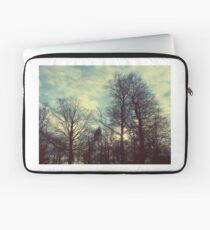 Winter Tree Silhouettes Laptop Sleeve