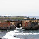 Cliffs Along The Coast by NancyC