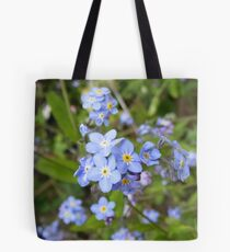 forget me not - I doubt you could! Tote Bag