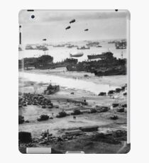 Normandy Landing World War 2 Vintage iPad Case/Skin