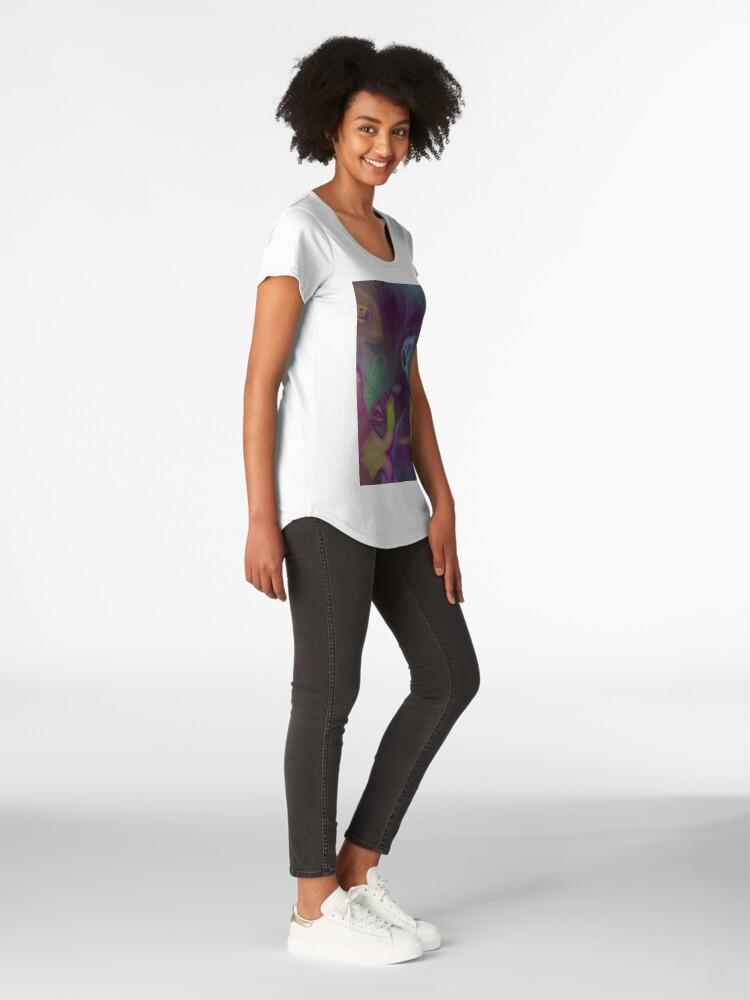 Alternative Ansicht von Nicht alleine Premium Rundhals-Shirt
