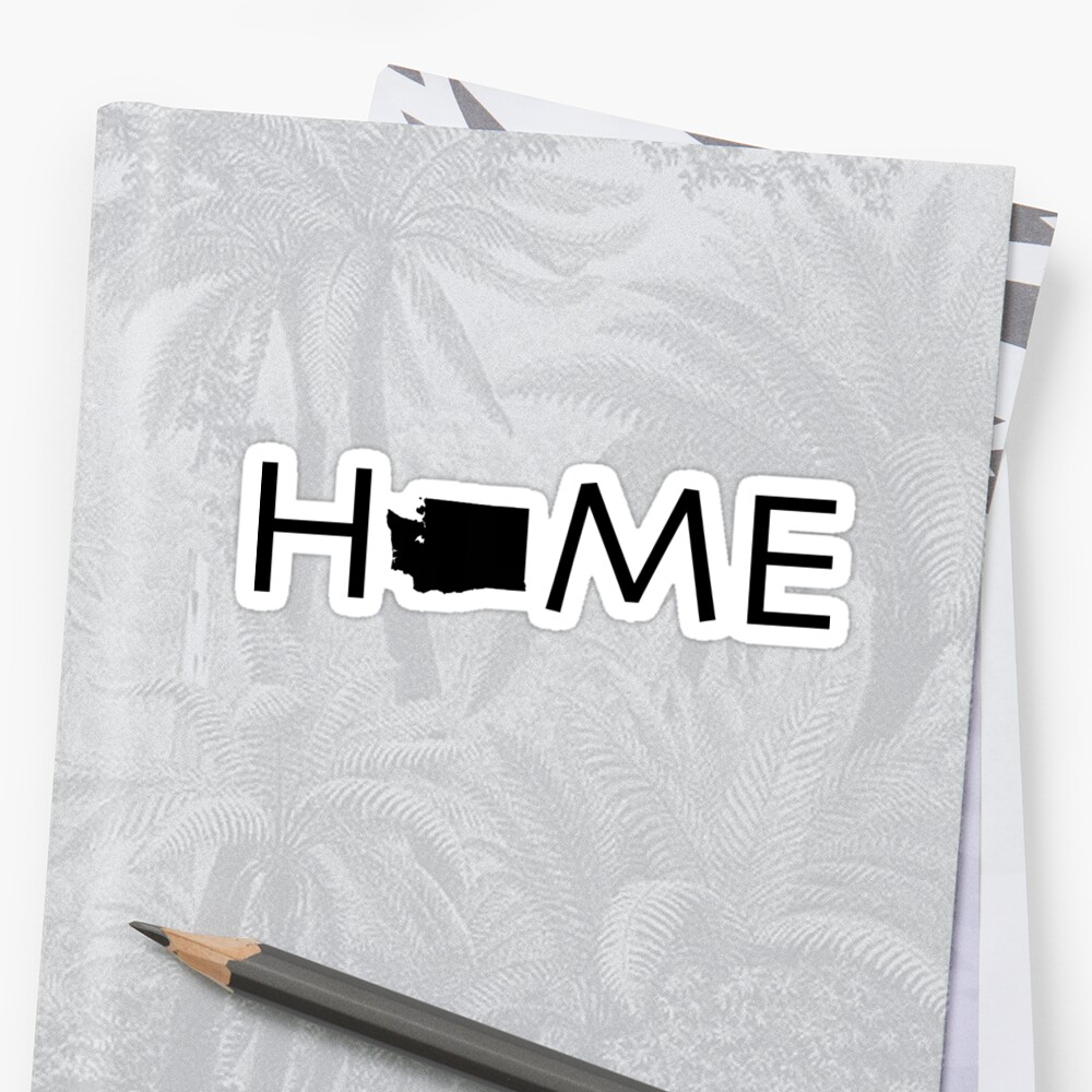 WASHINGTON HOME Stickers