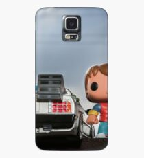 Outatime with Marty McFly Case/Skin for Samsung Galaxy