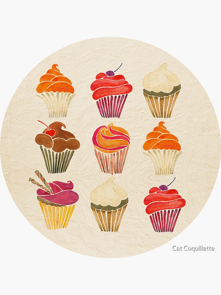 Cupcakes de catcoq