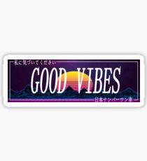 Car Slap - Vaporwave Good Vibes Sticker