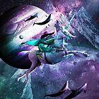 Epic Frog Riding Unicorn by SkylerJHill