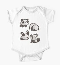Rolling panda One Piece - Short Sleeve