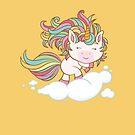 «Unicornio lindo» de leandrojsj