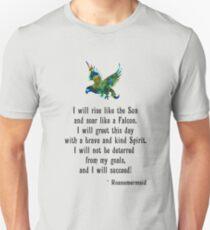 Success Affirmation Slim Fit T-Shirt