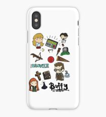 buffy etc. iPhone Case/Skin