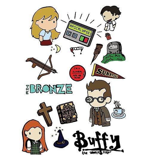 buffy etc. by vaboredwoolf
