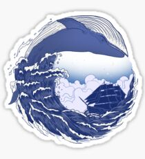 The great whale  Sticker