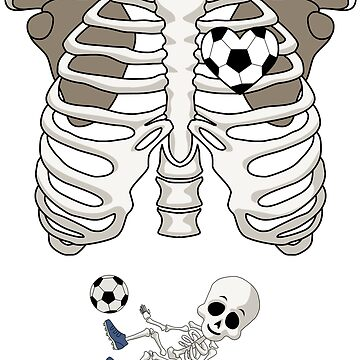 Soccer Skeleton by 8fiveone4