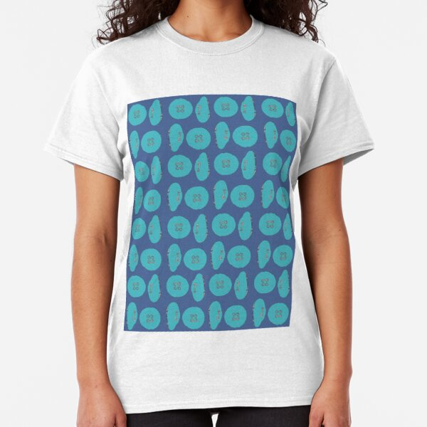 Turquoise Jellyfish Classic T-Shirt
