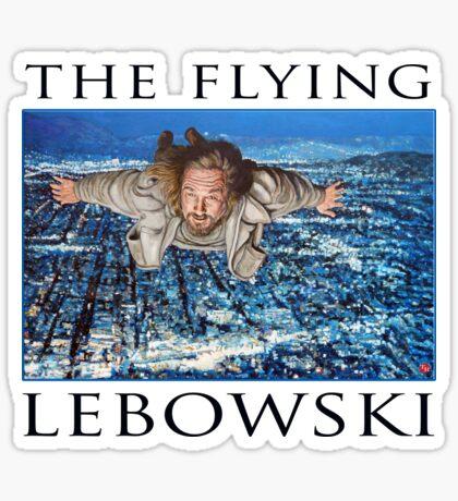 The Flying Lebowski Sticker