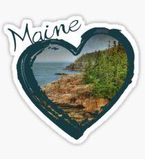 Love Maine Sticker