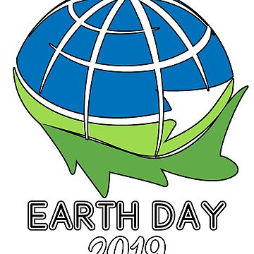 Earth Day 2019 Poster Gift for Men Women Kids Youth Clipart Everyday by GabiBlaze