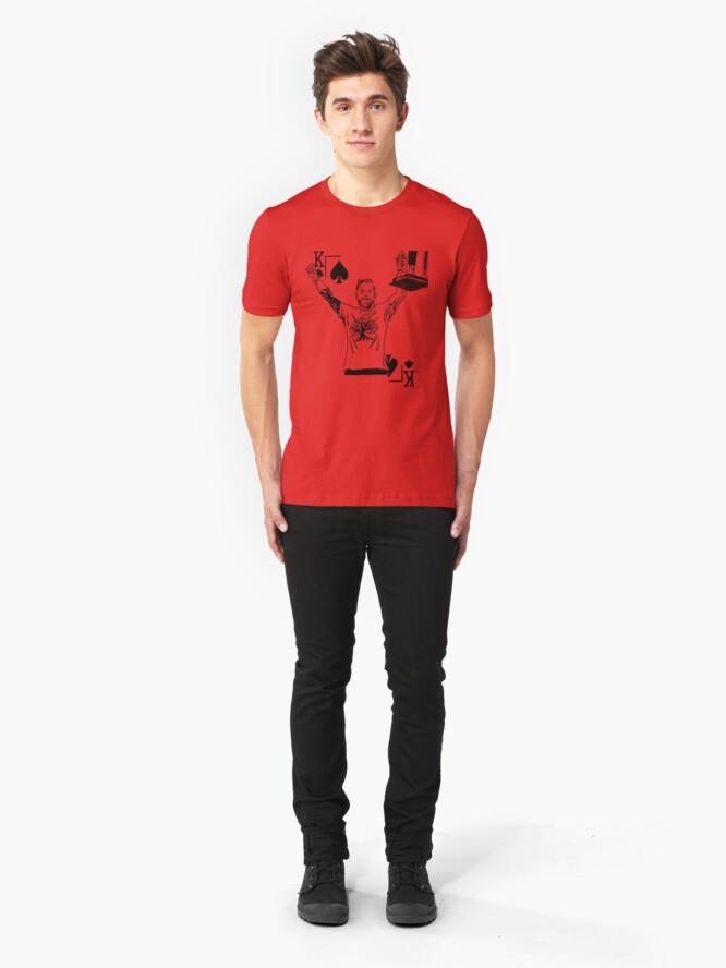 Alternate view of Danny Op t Hof  Slim Fit T-Shirt