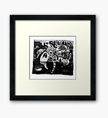 Every Yes Has A No Framed Print
