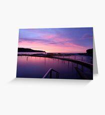 Sunrise - Malabar Baths Greeting Card