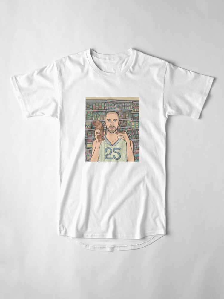 Alternate view of I saw Steve B at a grocery store Long T-Shirt