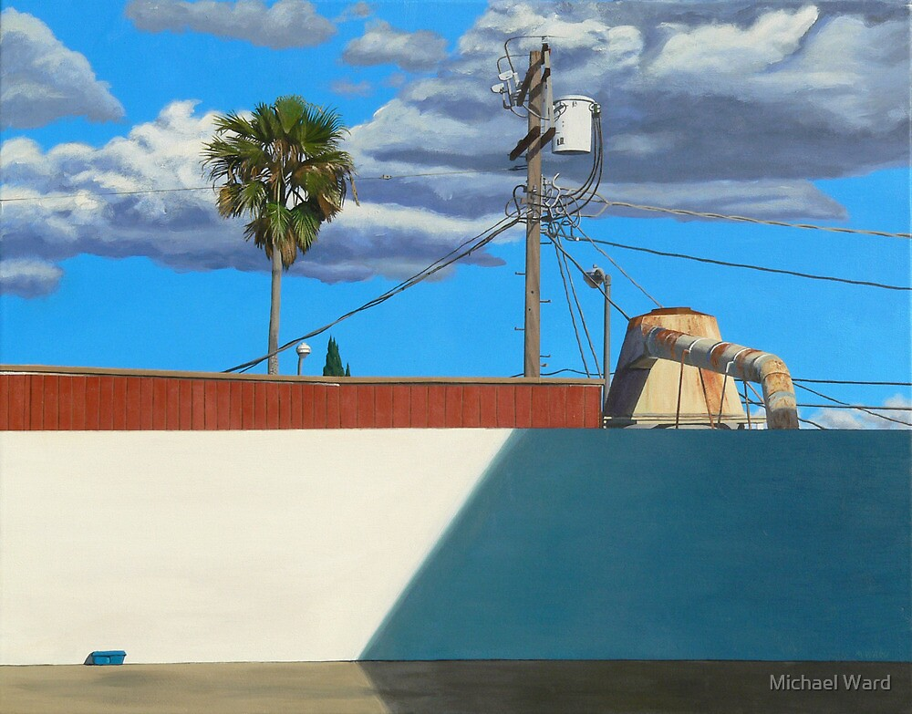 Still Life with Cyclone by Michael Ward