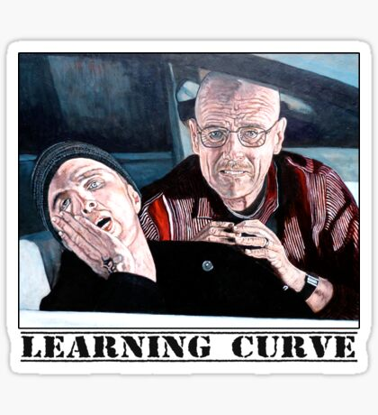 Learning Curve Sticker