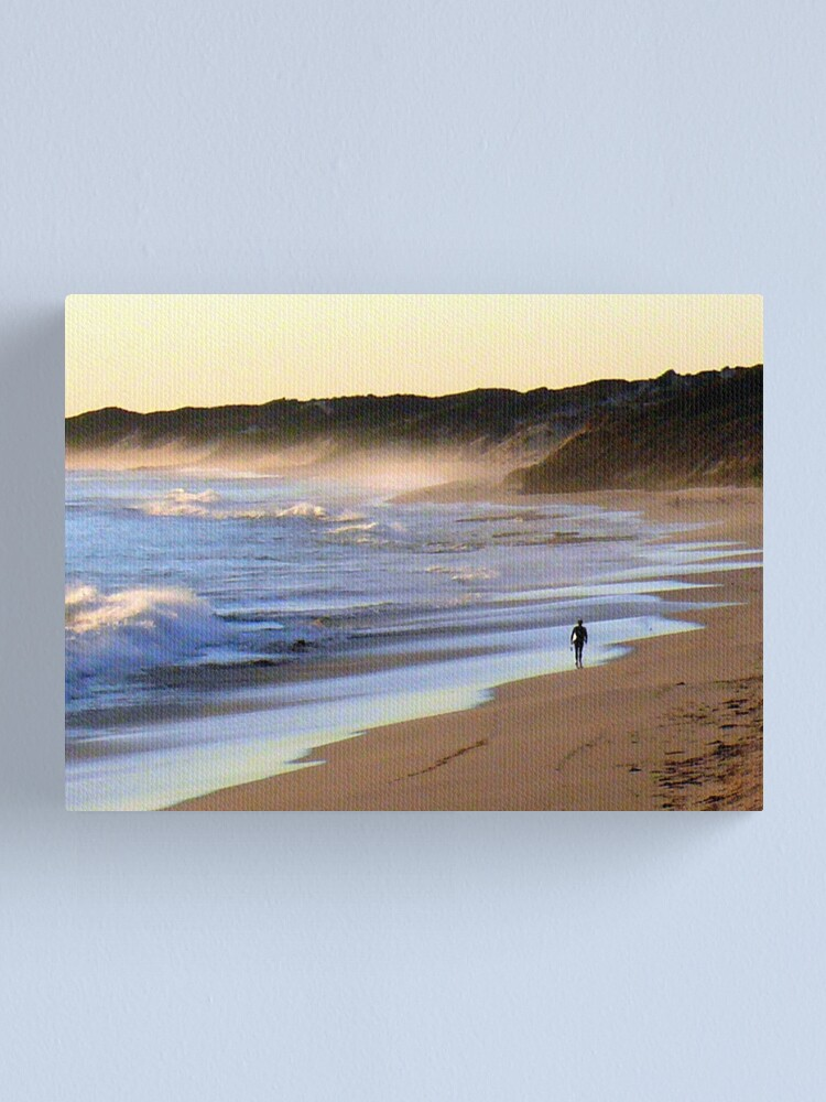 Alternate view of Board Walk Canvas Print