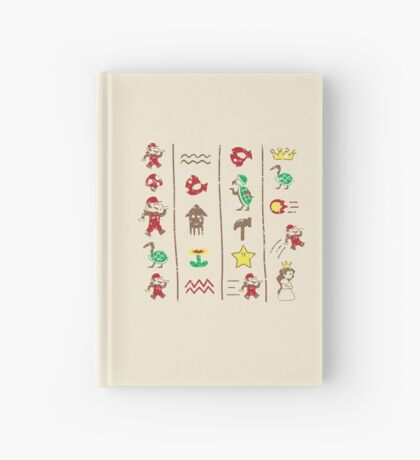 The Legend of Mario Hardcover Journal