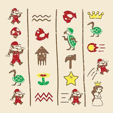 The Legend of Mario by KentZonestar