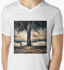 the cat and the sea T-Shirt