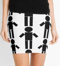 NT Man - White Mini Skirt