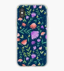Flowers + Bees iPhone Case