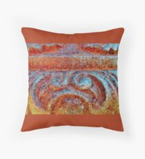 The Elegance of Old Iron Throw Pillow