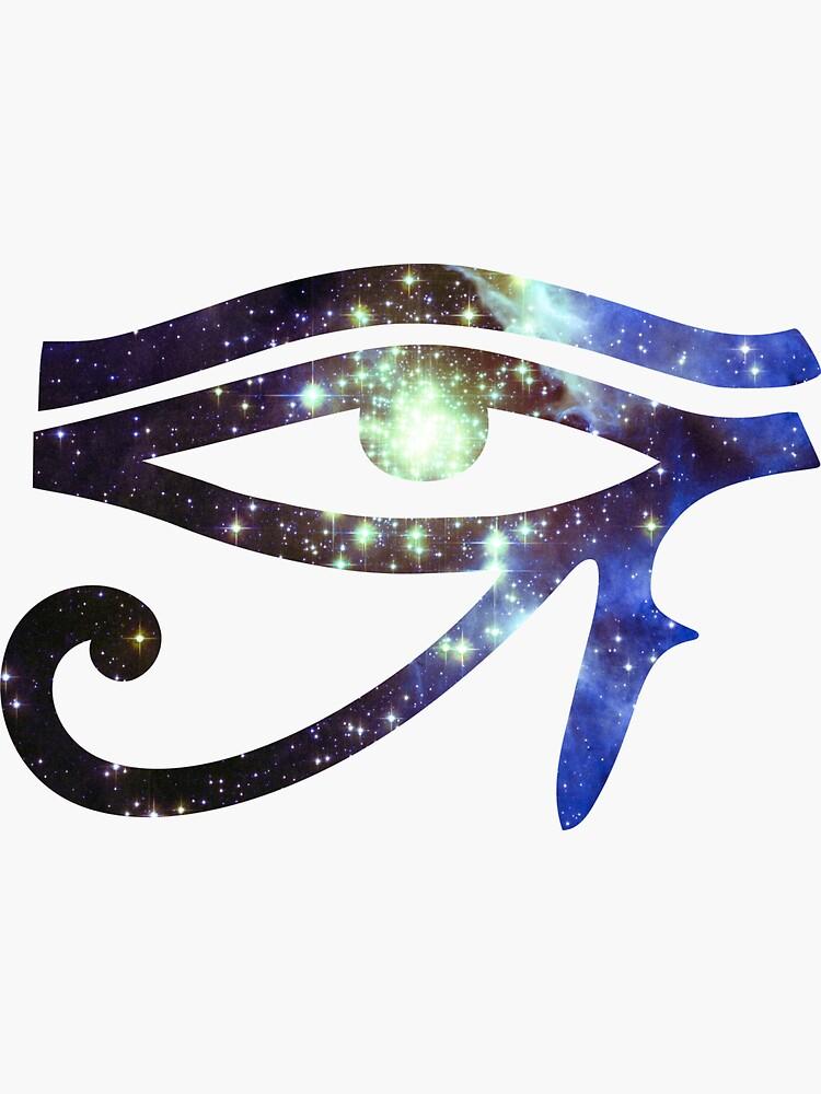 Kind Cudi Galaxy [Blau]   Auge des Ra [Auge des Horus] von SirDouglasFresh