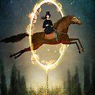 Knight of Wands by Catrin Welz-Stein