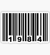 Pegatina Código de Barras 1984