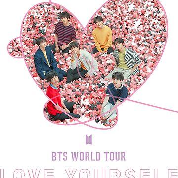 BTS Love Yourself Speak Yourself World Tour 2019, BTS Heart by yairalynn