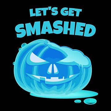 (tshirt) Lets Get Smashed (invert) by KaylinArt