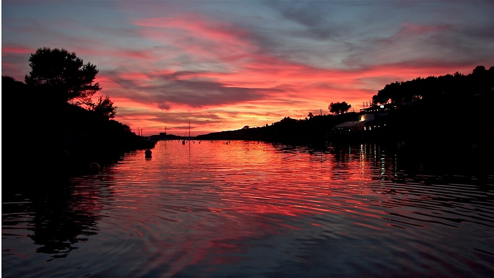 Menorcan Sunset by John Thurgood