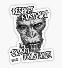 VeganChic ~ Respect Existence Sticker