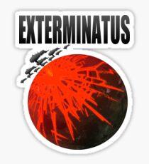 Pegatina Título Exterminatus
